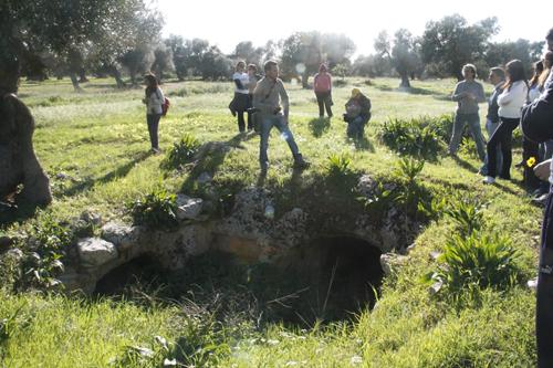 frantoio scoperto lungo la via Traiana